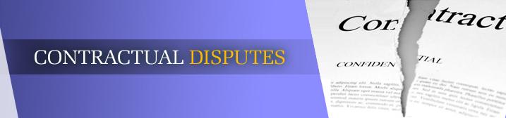 Contractual-disputes